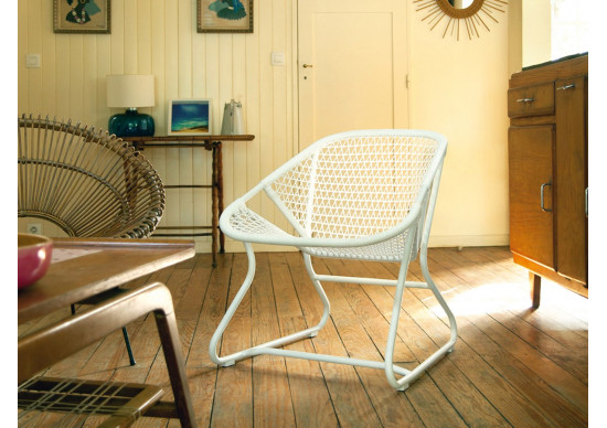 Fauteuil bas SIXTIES - FERMOB