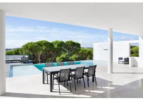 Table de jardin rectangle LIVORNO - JATI & KEBON