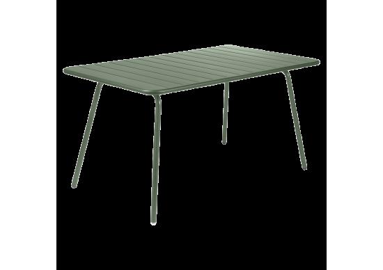 table de jardin en aluminium luxembourg fermob achat en. Black Bedroom Furniture Sets. Home Design Ideas