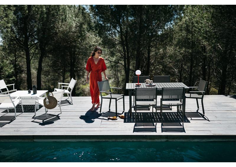 Table de jardin rectangle COSTA - FERMOB