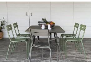 Table de jardin rectangle...